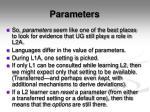 parameters2