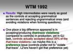 wtm 19922