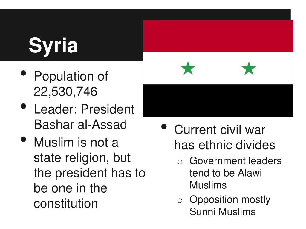 PPT - Case Study: Syria PowerPoint Presentation - ID:1179020