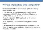 why are employability skills so important