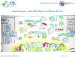 visual summary next steps towards the future we want