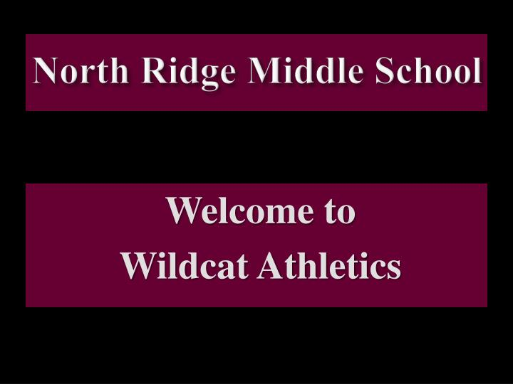 north ridge middle school n.