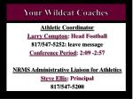 your wildcat coaches2