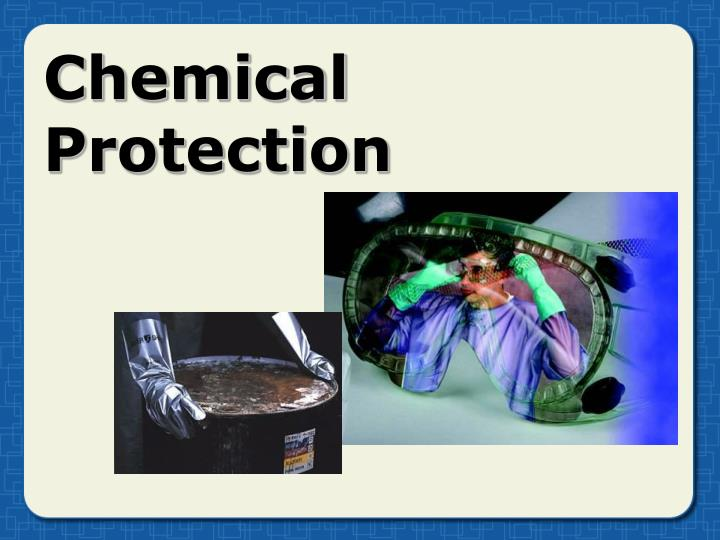 chemical protection n.