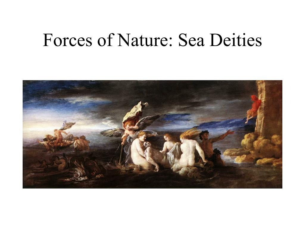 Forces of Nature: Sea Deities