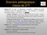 scenario p dagogique classe de 2 nde