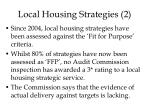 local housing strategies 2