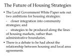the future of housing strategies
