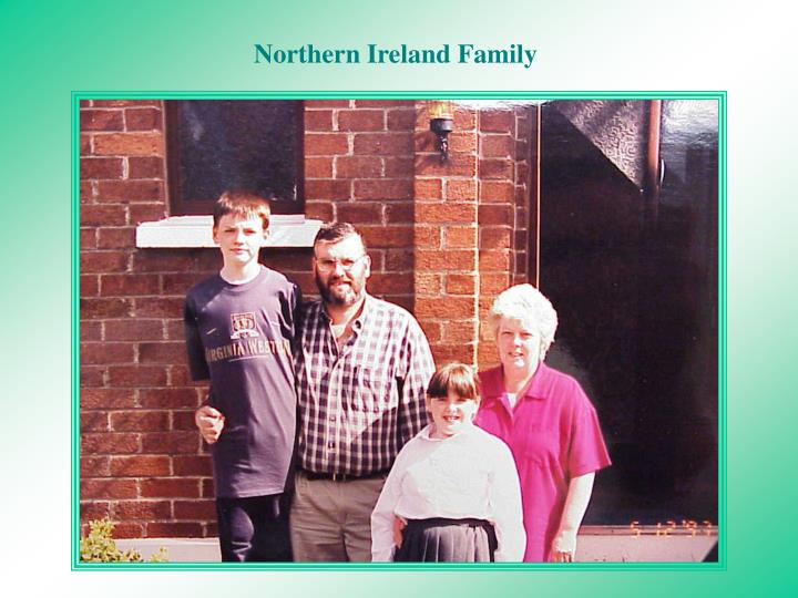Northern Ireland Family