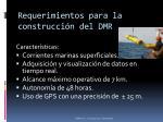 requerimientos para la construcci n del dmr2