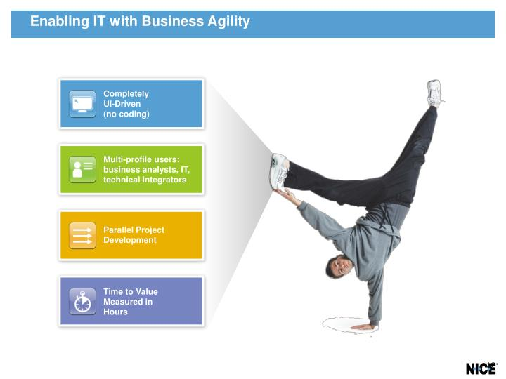 Enabling IT with Business