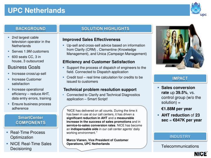 UPC Netherlands
