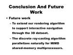 conclusion and future work3