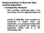 implementation of discrete ray casting algorithm9