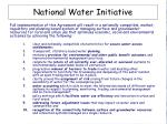 national water initiative