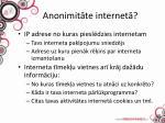anonimit te internet