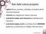 net safe latvia projekts