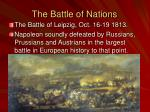 the battle of nations