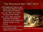 the peninsular war 1807 1814