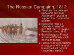 the russian campaign 1812