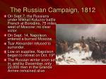 the russian campaign 18121