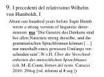 9 i precedenti del relativismo wilhelm von humboldt i
