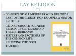 lay religion