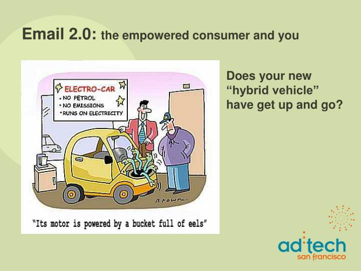Email 2 0 the empowered consumer and you2
