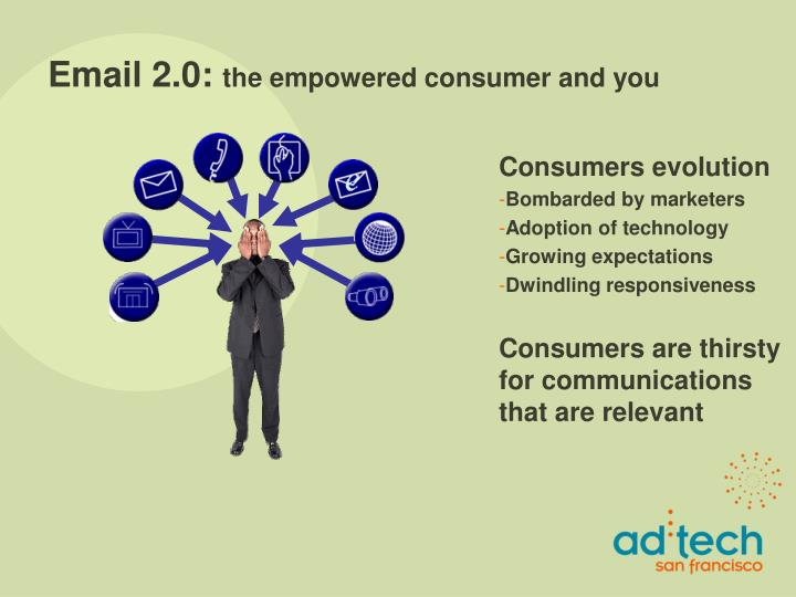 Email 2 0 the empowered consumer and you3
