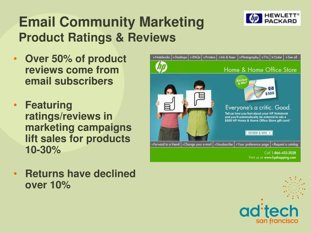 Email Community Marketing