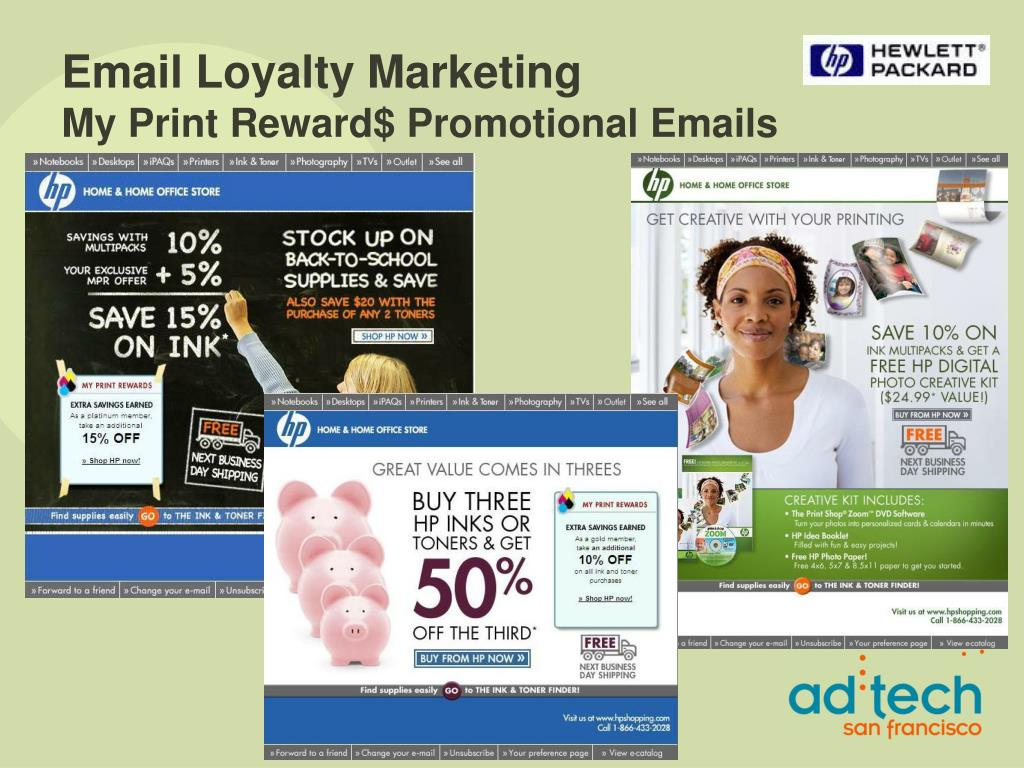 Email Loyalty Marketing