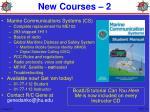 new courses 2
