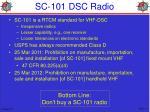 sc 101 dsc radio1