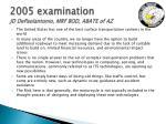 2005 examination jd depaolantonio mrf bod abate of az