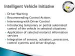 intelligent vehicle initiative1