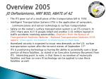 overview 2005 jd depaolantonio mrf bod abate of az