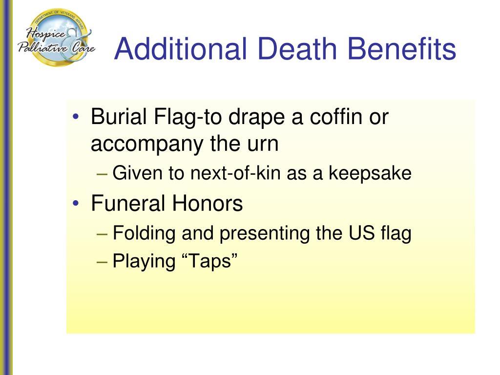 Additional Death Benefits