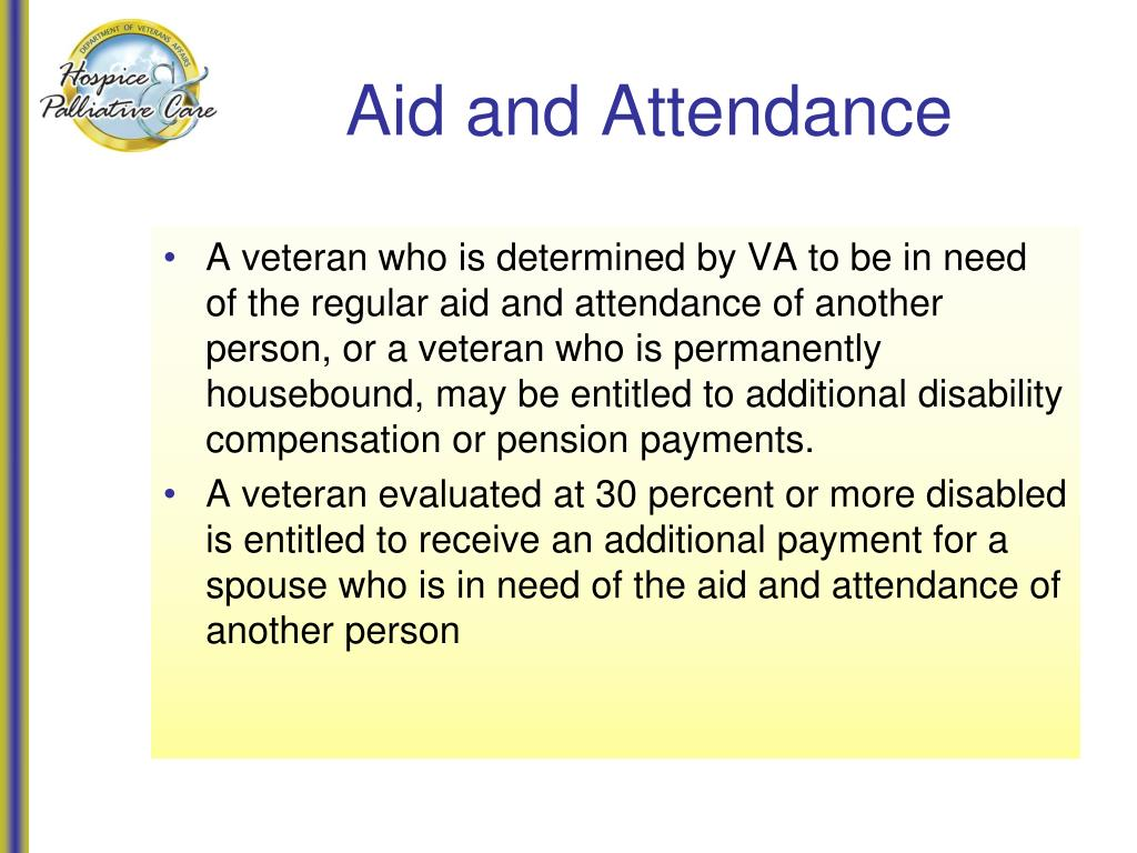 Aid and Attendance