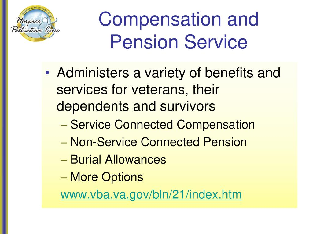 Compensation and Pension Service