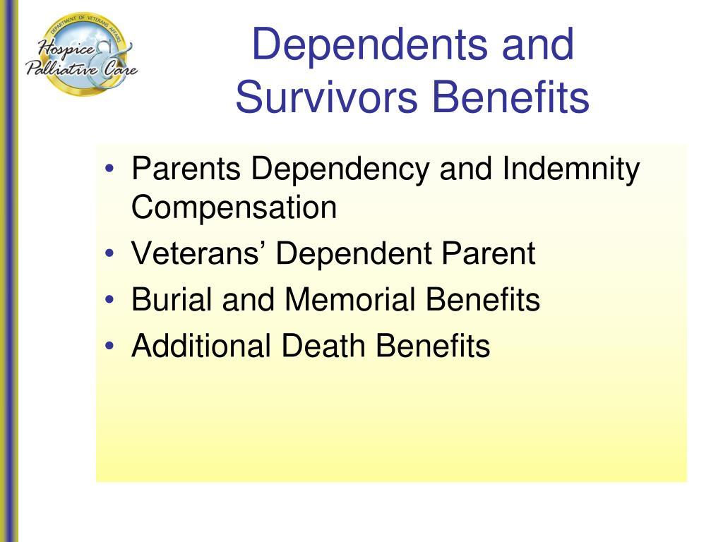 Dependents and Survivors Benefits