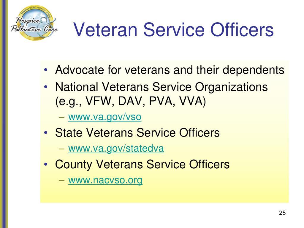 Veteran Service Officers