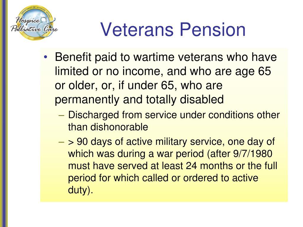 Veterans Pension