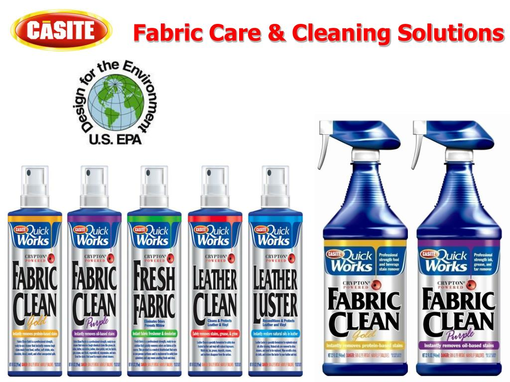 fabric care cleaning solutions l.