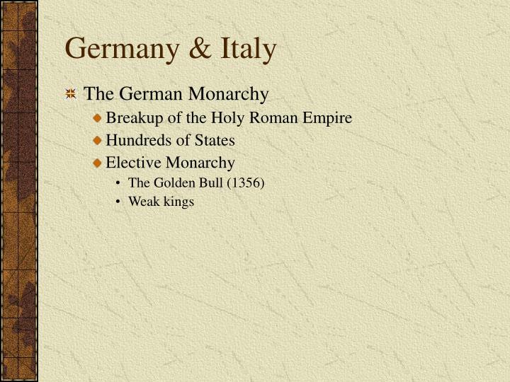 Germany & Italy