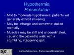 hypothermia presentation1