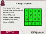 1 magic squares6