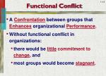 functional conflict