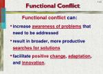 functional conflict1