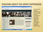 teaching about the great depression1