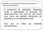 elementos de sustenta o do estudo social requerem os seguintes procedimentos1